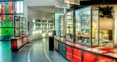 GlasmuseumFrauenauInnenpanorama