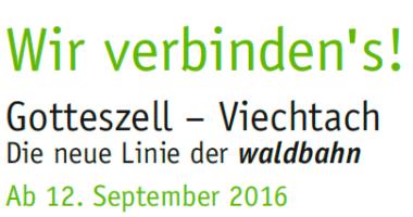 Mit der Waldbahn von Gotteszell nach Viechtach