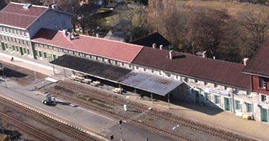 Bahnhof Bayerisch Eisenstein/ Železná Ruda-Alžbětín