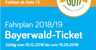 Bayerwaldticket Fahrpläne Winter 2018/2019