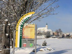 Bischofsmais im Winter. Foto: Gemeinde Bischofsmais
