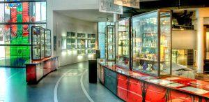 Innenansicht im Glasmuseum Frauenau, Foto: Glasmuseum Frauenau