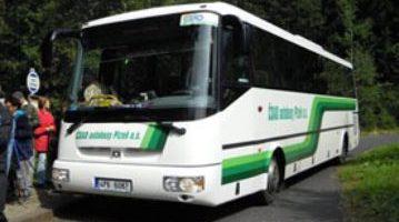 Die Grünen Busse im Nationalpark Šumava