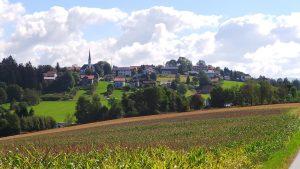 Blick auf die Gemeinde Hohenau, Foto: Gemeinde Hohenau