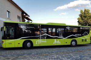 Igelbus grün neues Design, Foto Egger